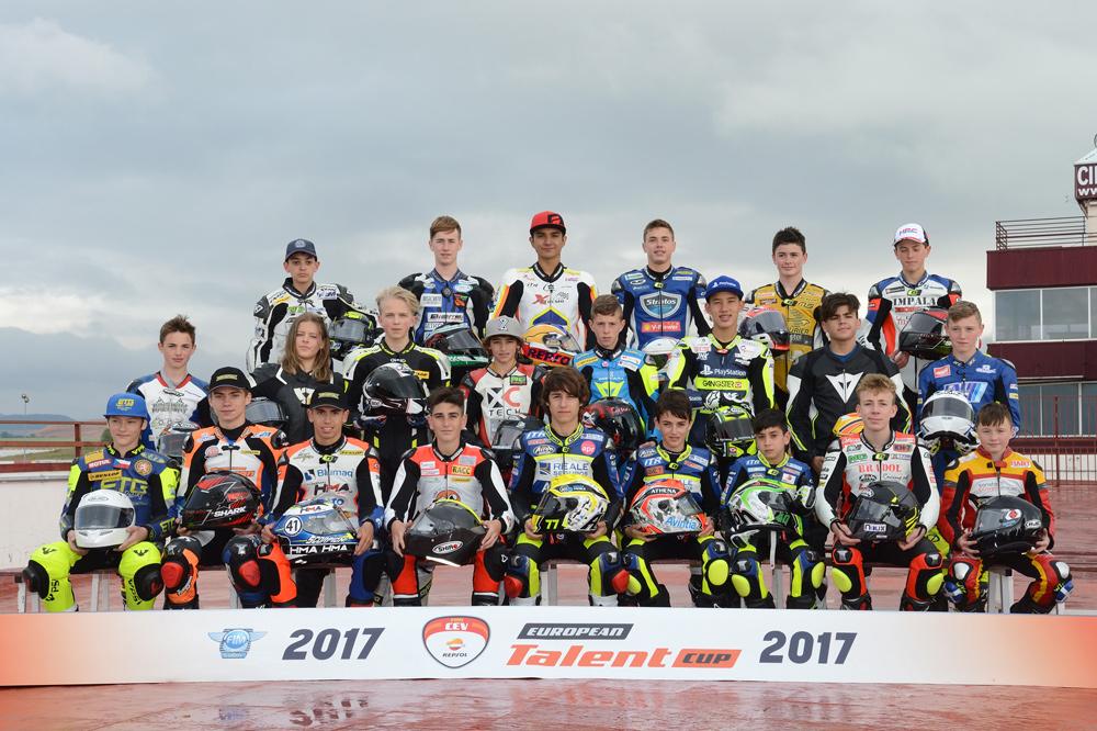 Pilotos de la European Talent Cup
