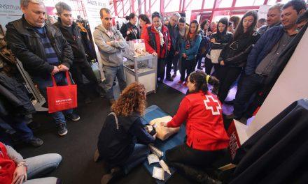 Blanca Sánchez: los motoristas y la Cruz Roja