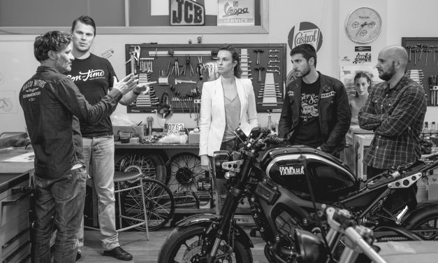 Yamaha y TW Steel se unen para crear motos únicas por toda europa