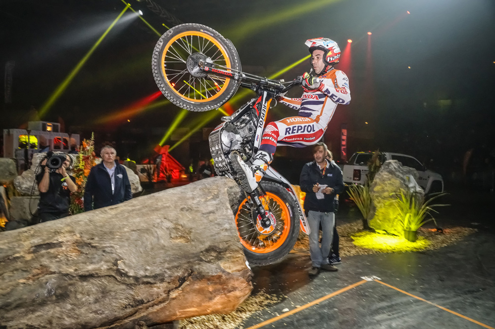 Toni Bou, Trial Indoor de Niza