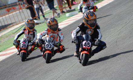Emocionantes tripletes en el Campeonato de España de Minivelocidad