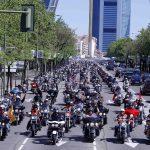 Más de 1500 Harleys recorrieron el centro de Madrid este fin de semana