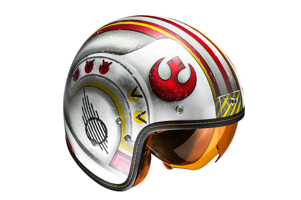 Casco jet FG-70's Luke Skywalker de HJC