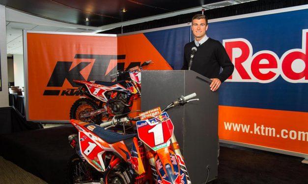 Ryan Dungey se retira de las competiciones profesionales
