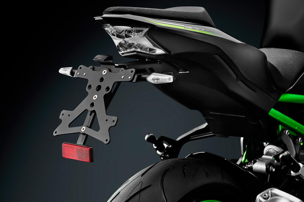 Soporte de matrícula Fox para Kawasaki Z900