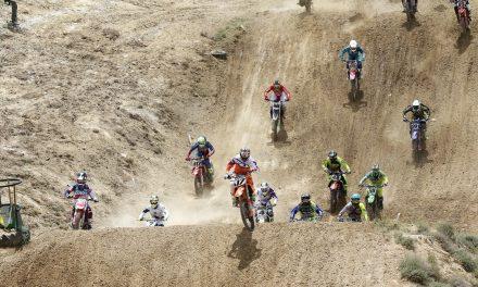 Butrón, Ubach, Lucas y Coloret lideraron el Nacional de Motocross en Calatayud