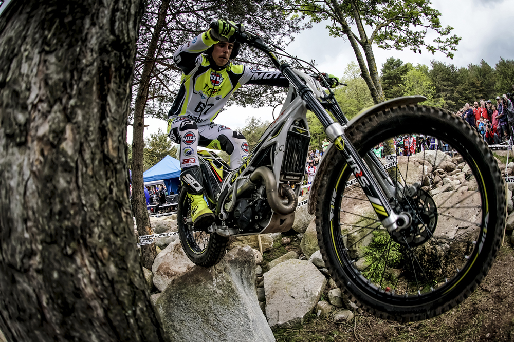Adam Raga Campeonato del Mundo de Trial Campodron