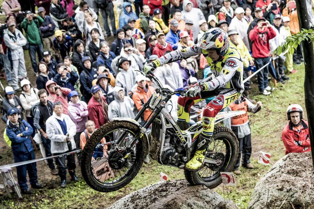Adam Raga, segundo en el Mundial de Trial en Japón