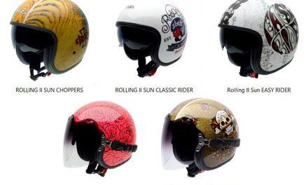 Cascos Rolling II Sun y Duo de NZI