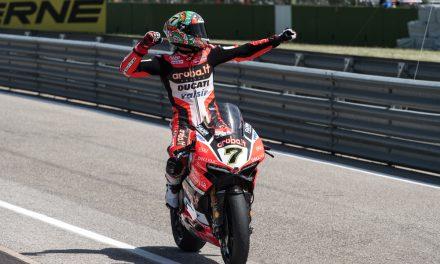 SBK Italia: Davies y Ducati, protagonistas