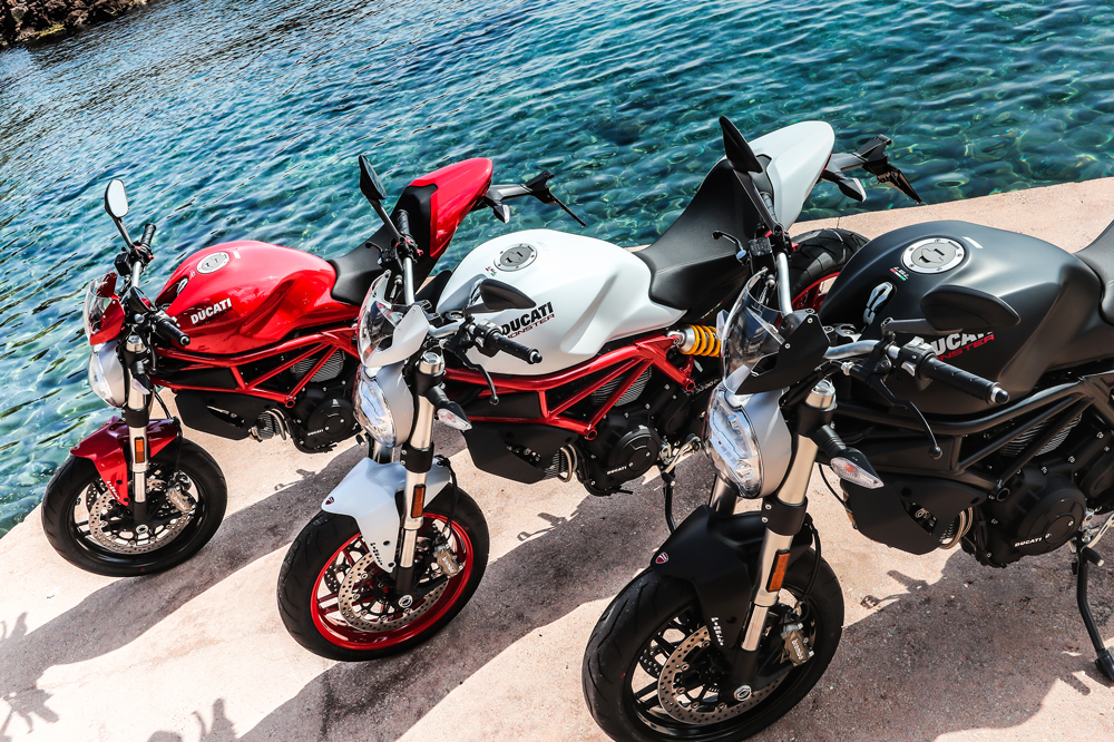 Ducati Monster 797 Colores