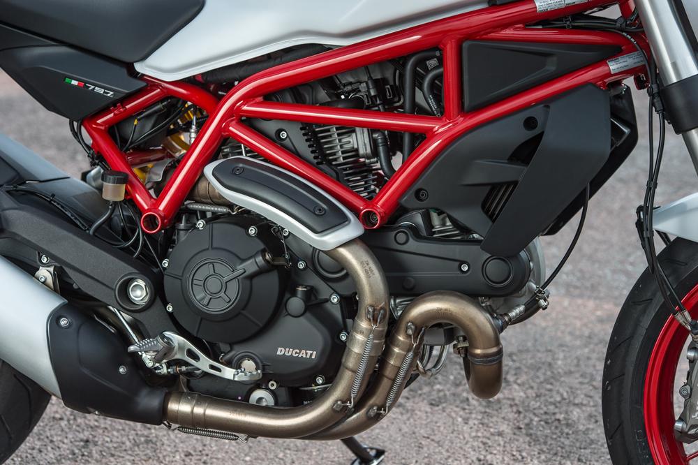 Motor de la Ducati Monster 797