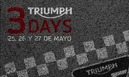 Triumph 3 Days: tres días de promociones y sorpresas en concesionarios seleccionados