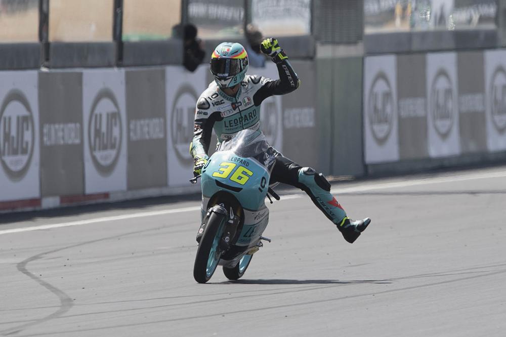 Victoria de Joan Mir en el GP de Francia Moto3