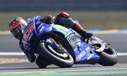 Viñales y Rossi, protagonistas del GP de Francia de MotoGP