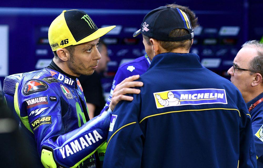 Valentino Rossi se recupera tras accidente de motocross en Italia