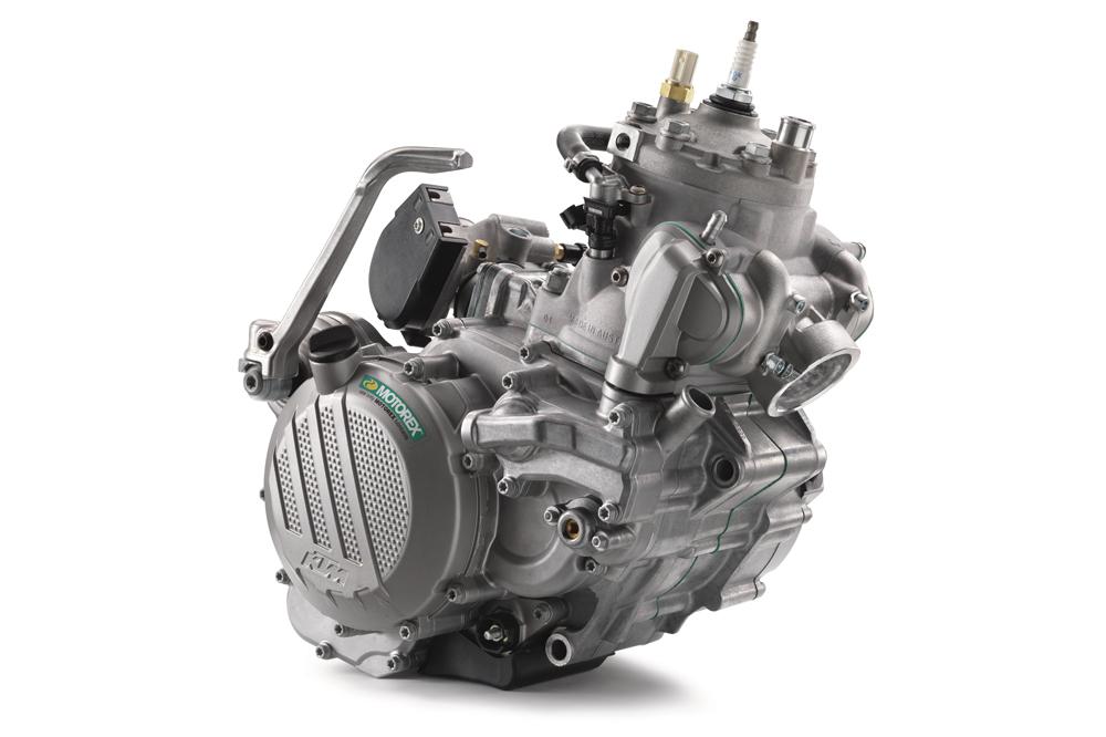 Motor KTM 2T con Inyección Electrónica