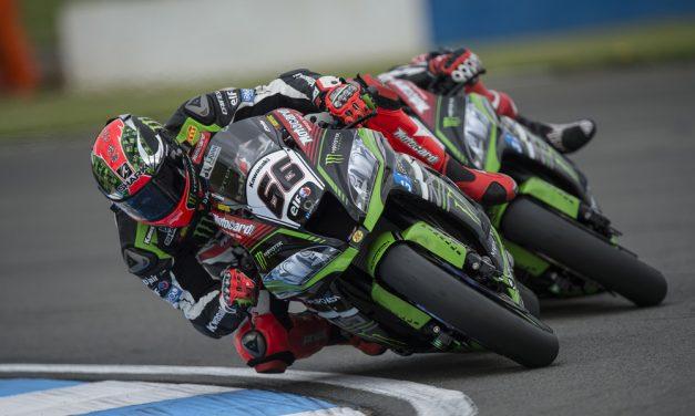 SBK Donington: Sykes y Rea, doblete de Kawasaki en el Reino Unido