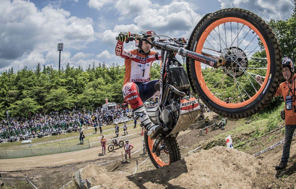Toni Bou: doblete de victorias en el Trial de Japón
