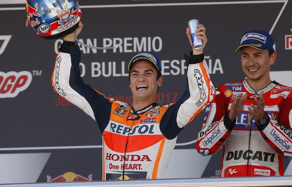 Dani Pedrosa es el rey del GP de Jerez