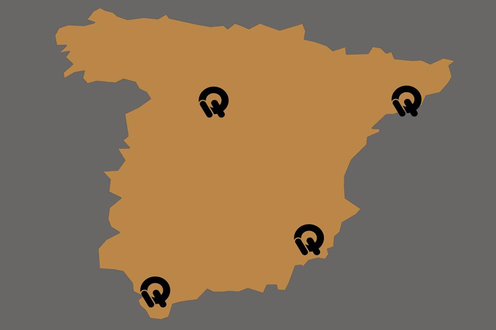 Quadro Nuevos Concesionarios España