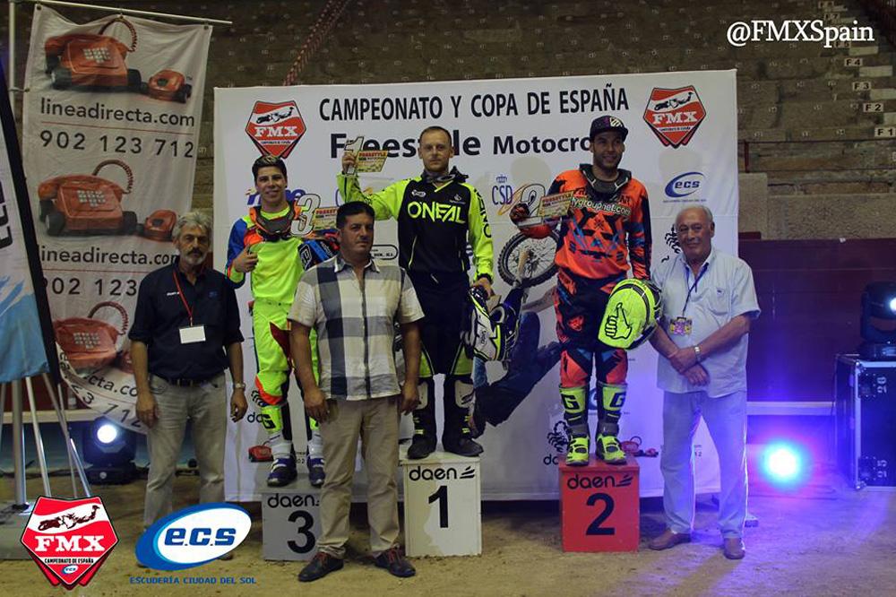 RFME Campeonato de España de Freestyle Podio Pontevedra