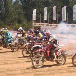 Pontevedra acogió segunda cita del Nacional de Motocross Clásico