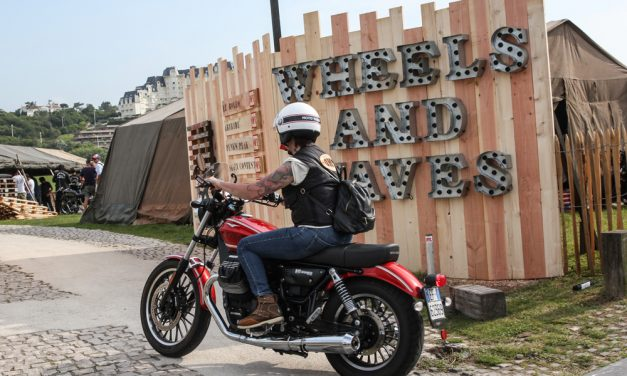 Moto Guzzi, protagonista en el Wheels & Waves 2017