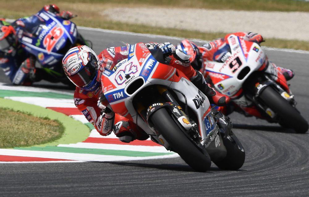 GP de Italia de MotoGP: Dovizioso, Pasini y Migno, fiesta en casa