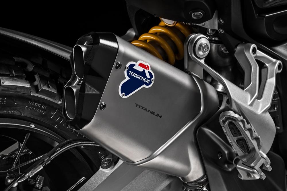 Escape Termignoni de la Ducati Multistrada Enduro Pro
