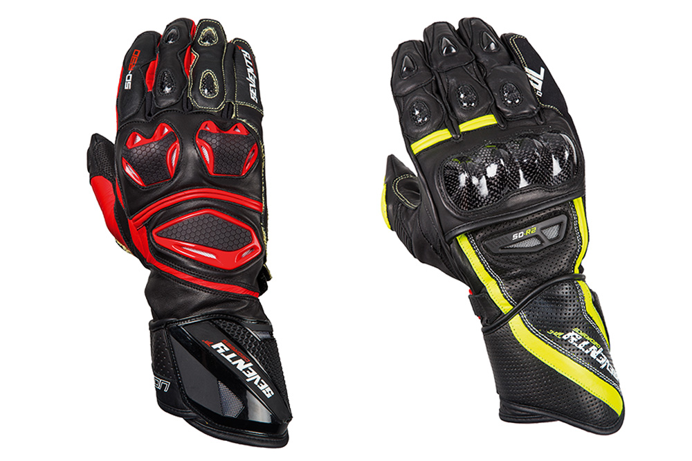 Guantes moto racing SD R30 y SD R2 de Seventy Degrees