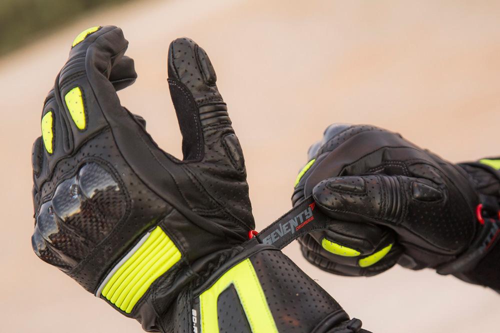 Guantes moto racing Seventy Degrees