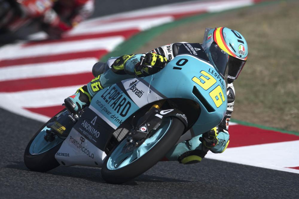 Joan MIr, victoria en Moto3 en el GP de Catalunya