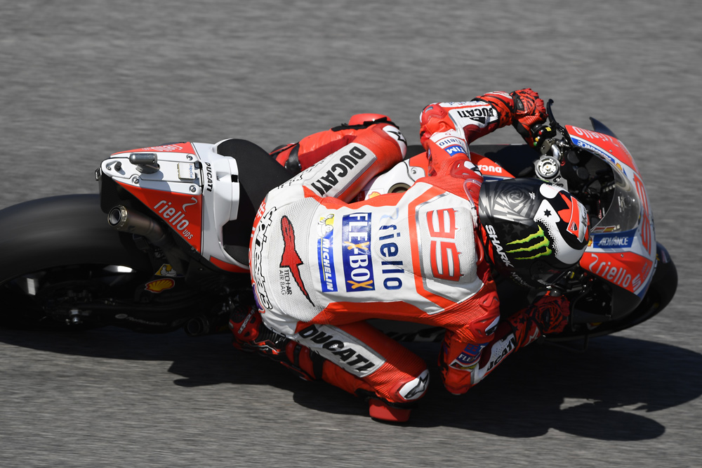Jorge Lorenzo pre MotoGP Catalunya