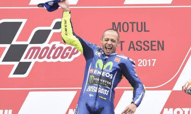 Rossi vuelve a colocar el mundial al rojo vivo