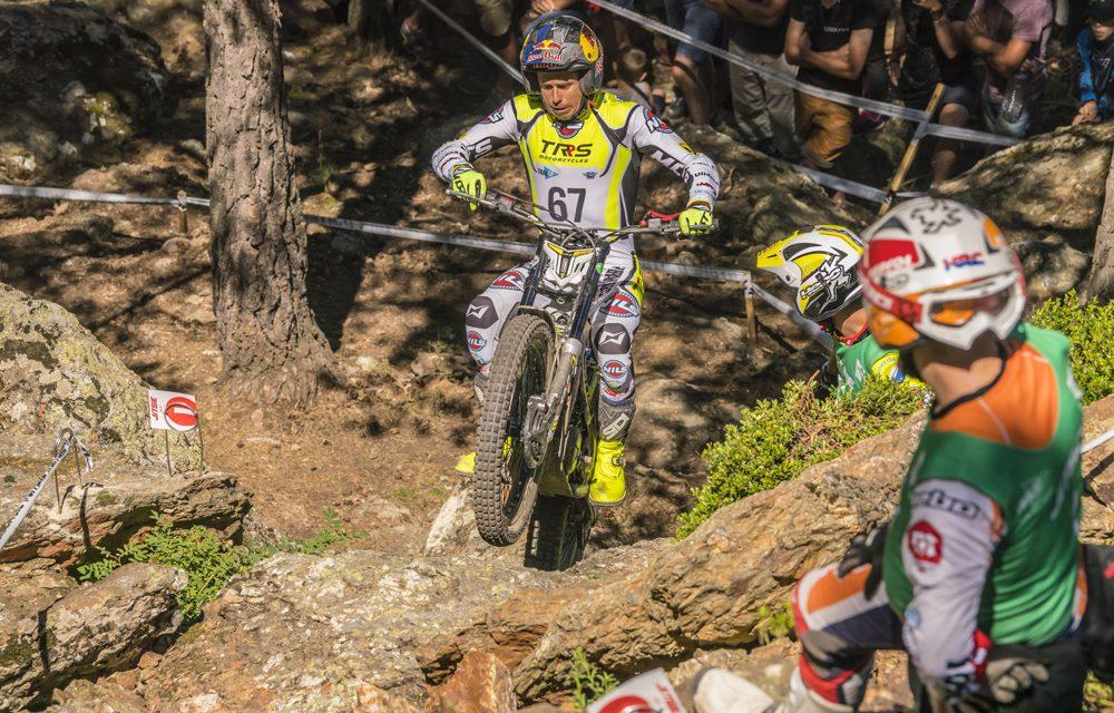 Adam Raga vence el duro trial de Andorra