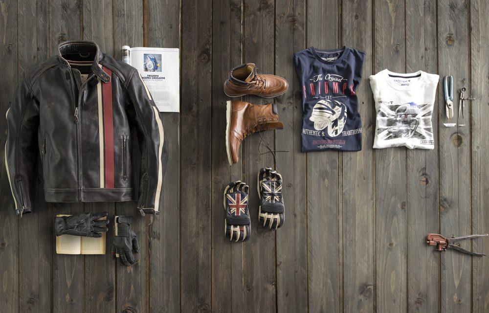 Chaquetas, guantes y botas Icon Bonneville de Triumph