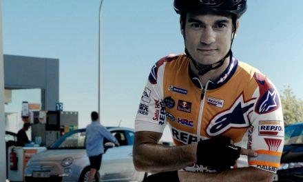 Los Pilotos de Repsol y la DGT se unen para prevenir accidentes de ciclistas en las carreteras españolas