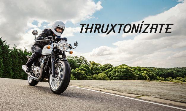 Promoción Triumph Thruxton para el verano