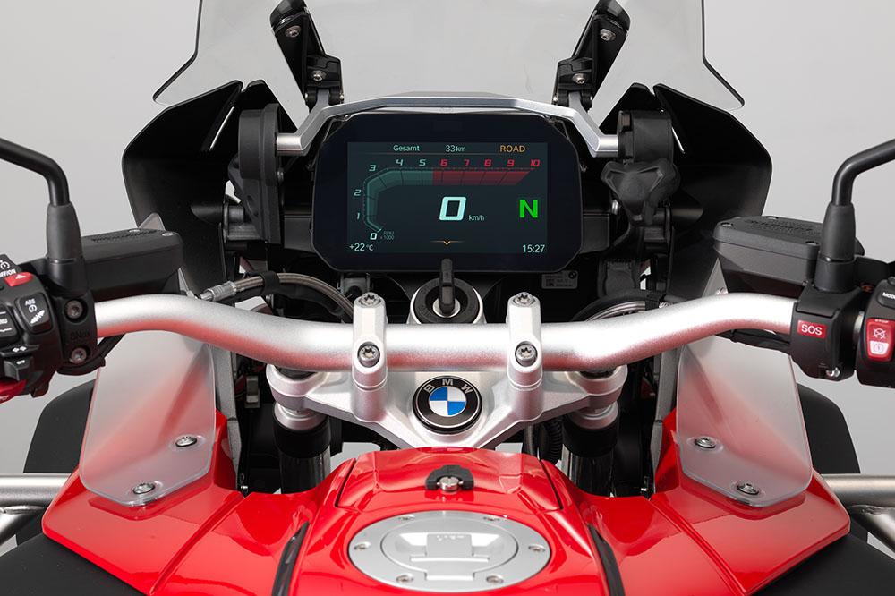 Cuadro de Instrumentos de la BMW R 1200 GS 2018