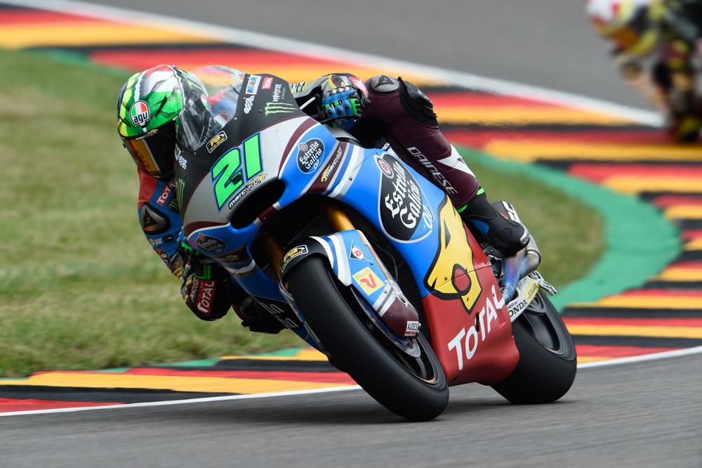 Victoria de Franco Morbidelli en el GP de Alemania de Moto2