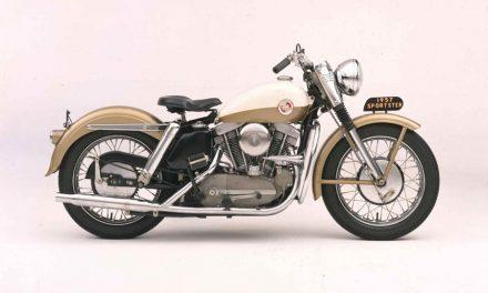 Historia de la Harley Davidson Sportster
