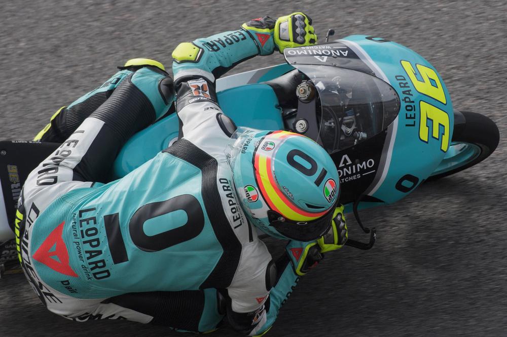 Joan Mir victoria en Moto3 en el GP de Alemania