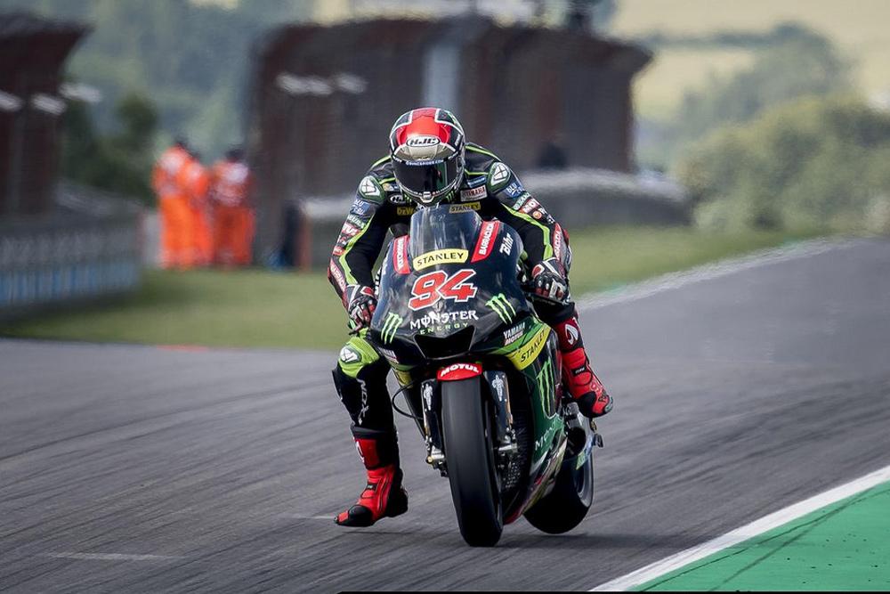 Jonas Folger fue segundo en el GP de Alemania en MotoGP