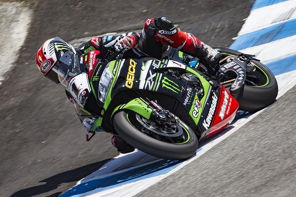 Jonathan Rea logró la victoria en la segunda carrera SBK en Laguna Seca