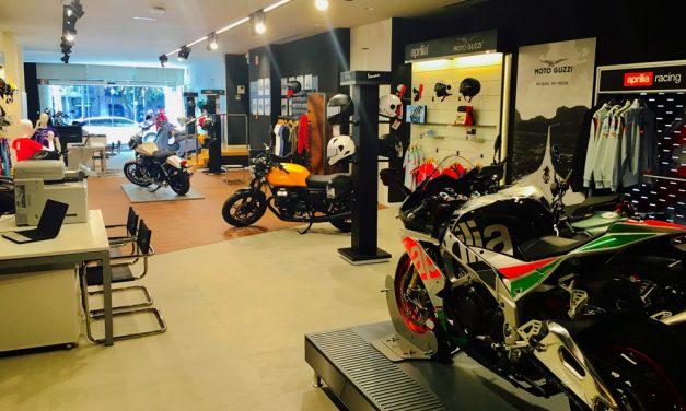 Motospazio inaugura un nuevo concesionario Piaggio en Barcelona