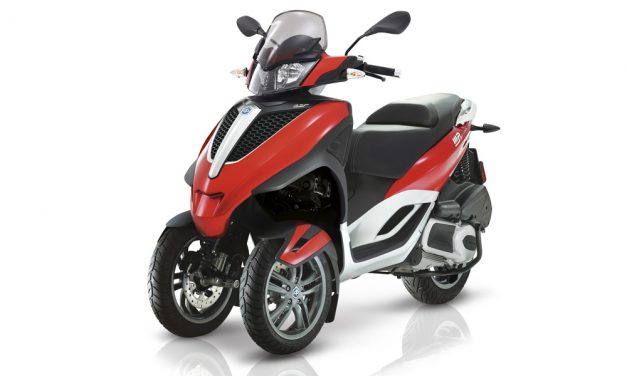 Piaggio MP3 2017: Scooter de tres ruedas superventas