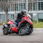 Quadro 3 2017: Un scooter de tres ruedas diferente