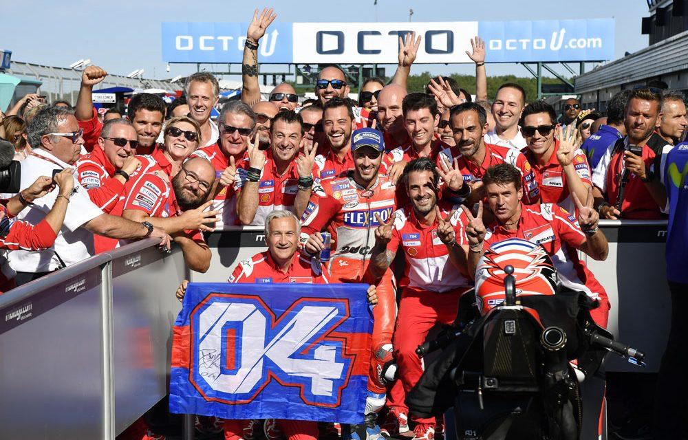Andrea Dovizioso: «Mi estrategia en el GP de Gran Bretaña fue excelente»
