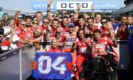 """Andrea Dovizioso: """"Mi estrategia en el GP de Gran Bretaña fue excelente"""""""